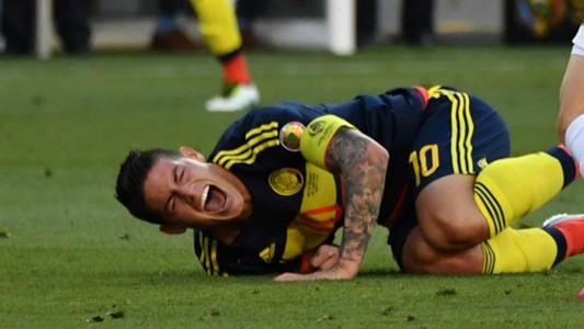 James lesión Selección Colombia Copa América 2016