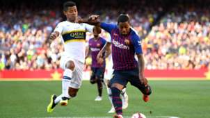 Malcom Wiliam Barrios Barcelona Boca Trofeo Joan Gamper 15082018