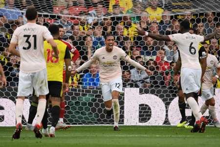 Chris Smalling Watford Man United Premier League 15092018