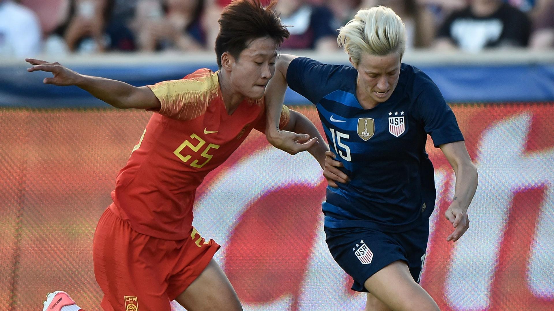 Megan Rapinoe U.S. women's national team China women's national team friendly 201