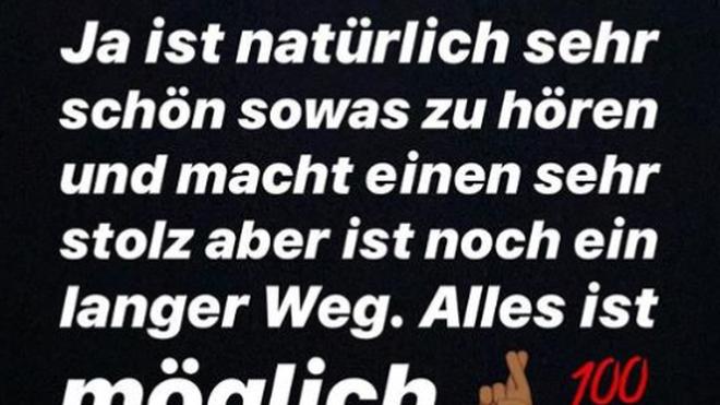 Youssoufa Moukoko Instagram Joachim Löw