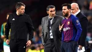 Lionel Messi Ernesto Valverde Barcelona Tottenham UCL 11122018