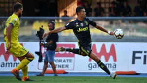 Cristiano Ronaldo Chievo Juventus Serie A 08182018