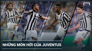 Top transfer's Juventus 2007-2017