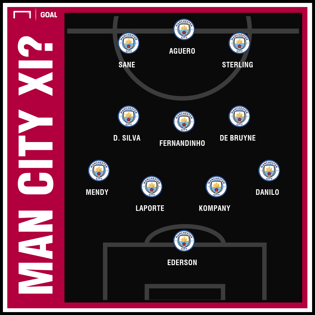 Crystal Palace v Man City, Premier League