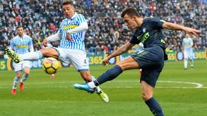 Ivan Perisic Thiago Cionek SPAL Inter Serie A
