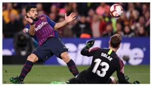 Luis Suarez Jan Oblak Barcelona Atletico Madrid LaLiga