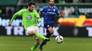 Christian Träsch Wolfburg Bundesliga 031517
