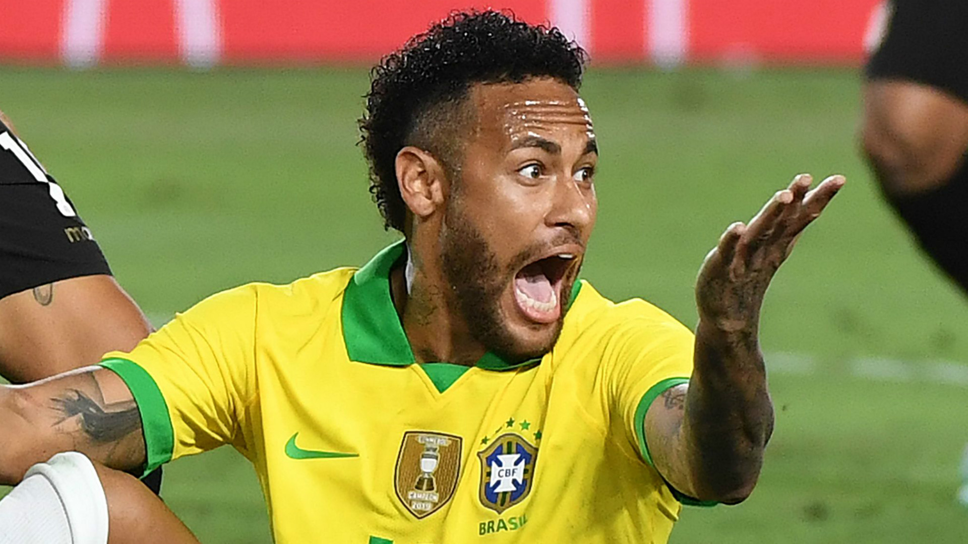 PSG star Neymar out for four weeks after suffering hamstring injury with Brazil