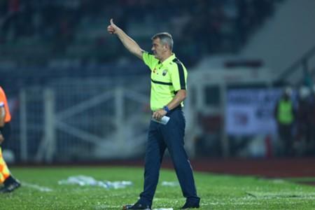 Perak head coach Mehmet Durakovic 1/3/2017