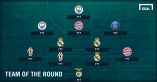 GFX Info Champions League Last-16 Team of the Round ???