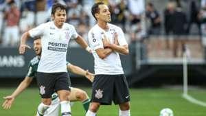 Rodriguinho e Romero - Corinthians x Plameiras - 13/05/2018