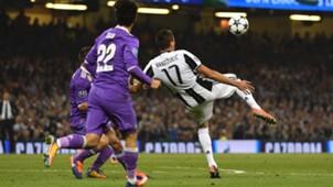 Mario Mandzukic Juventus Real Madrid