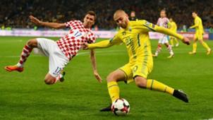 Mario Mandzukic Ukraine Croatia