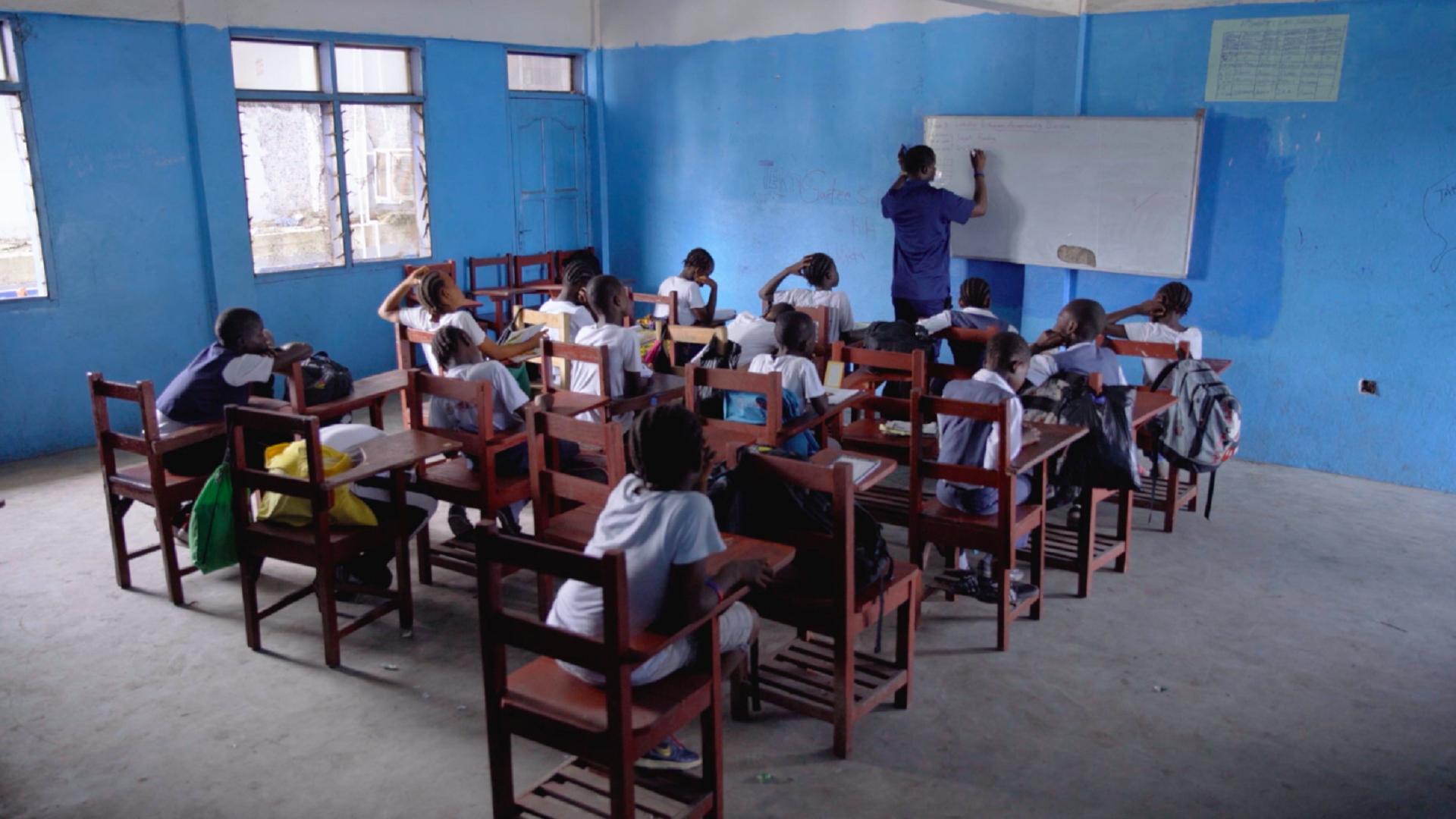 Classroom Monrovia Football Academy