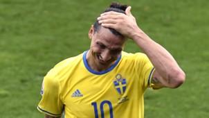 Zlatan Ibrahimovic Sweden Italy Euro 2016