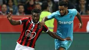 Allan Saint-Maximin Jordan Amavi Nice Marseille Ligue 1 21102018