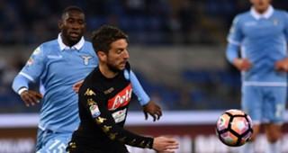 Dries Mertens Bastos Lazio Napoli Serie A