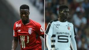 Nicolas Pepe Ismaila Sarr Lille Rennes Ligue 1