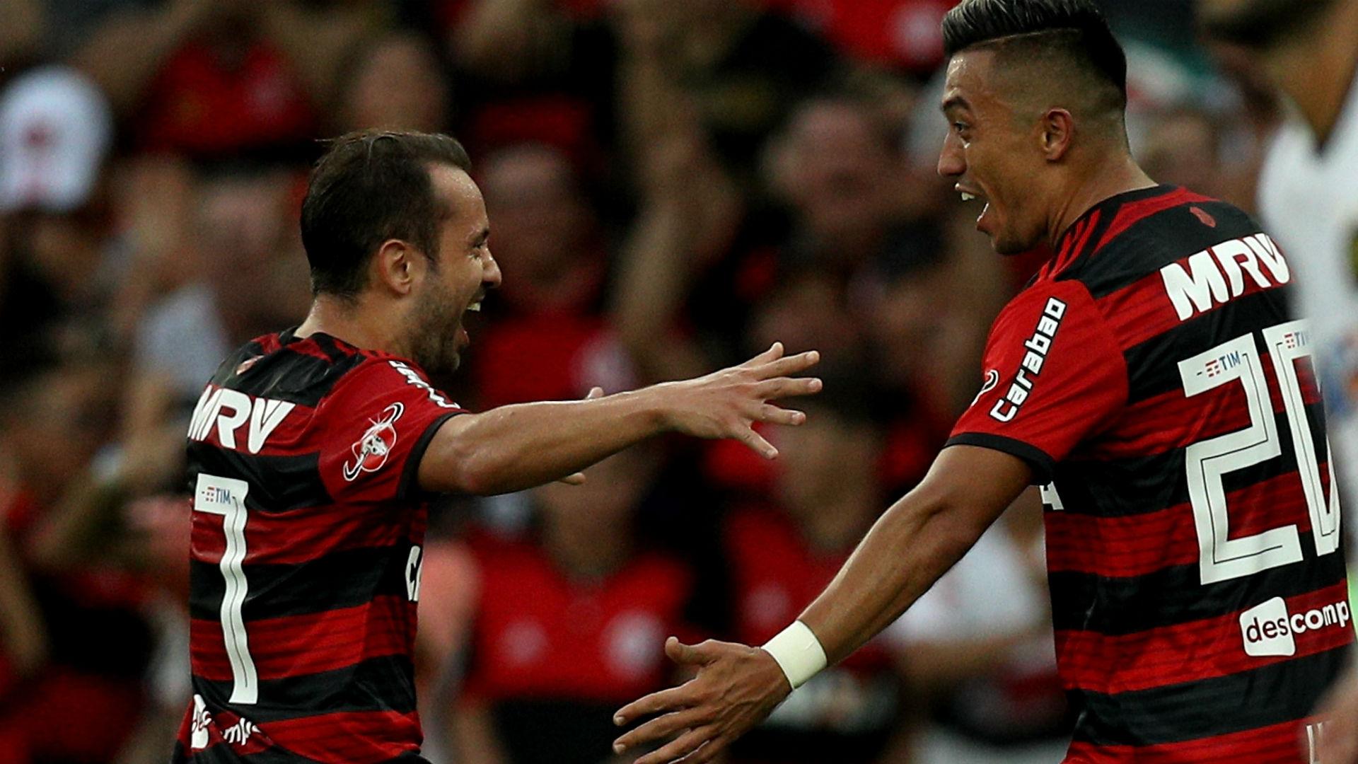 Everton Ribeiro Uribe Flamengo Sport Brasileirão 29 07 2018