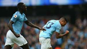 Benjamin Mendy Gabriel Jesus Manchester City