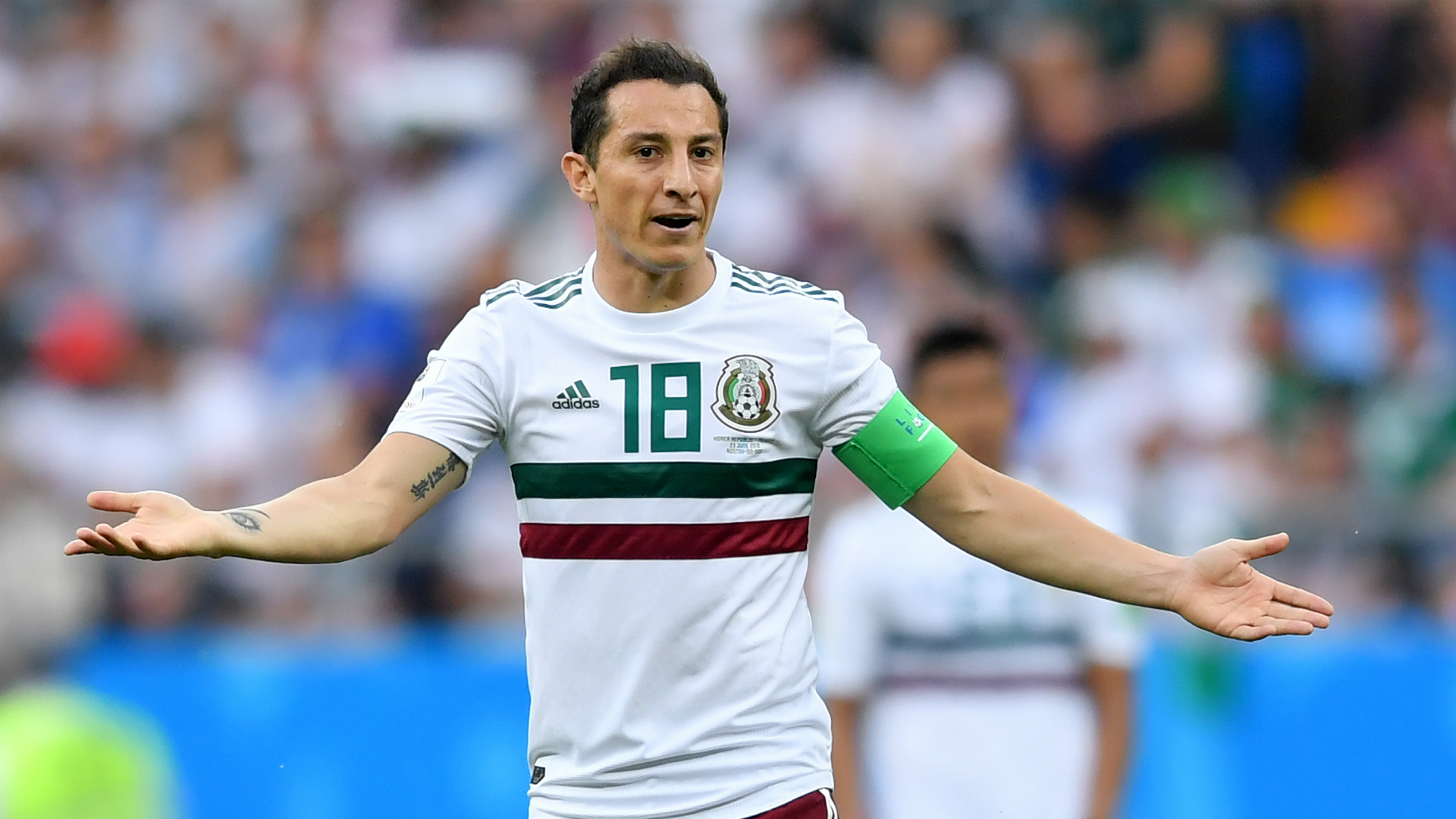 Andrés Guardado rejected millionaire offer of the MLS