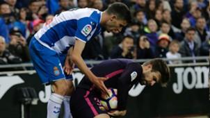Gerard Pique Espanyol Barcelona LaLiga 29042017