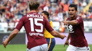 Iago Falque Cristian Ansaldi Torino Verona Serie A