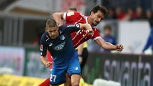 Andrej Kramaric Mats Hummels Hoffenheim Bayern Munich 09092017