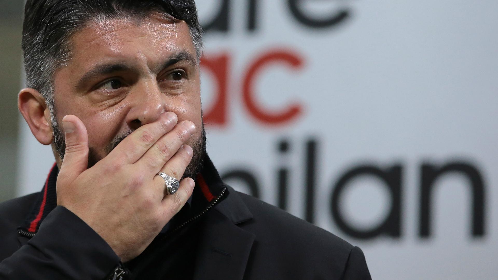 Gattuso Milan Italian Cup