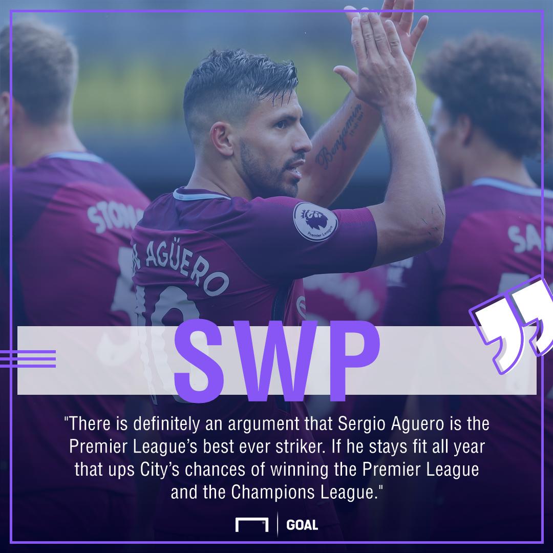 Sergio Aguero Wright-Phillips Premier League best ever