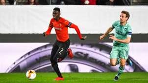 Ismaila Sarr Rennes Arsenal