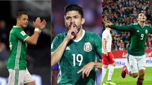 México delanteros