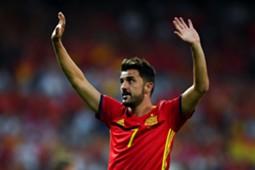David Villa Spain Italy