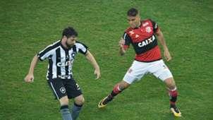 Joao Paulo Gustavo Cuellar Botafogo Flamengo Copa do Brasil 16082017
