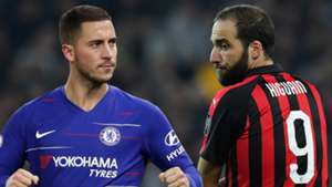 Hazard Higuain Chelsea PS