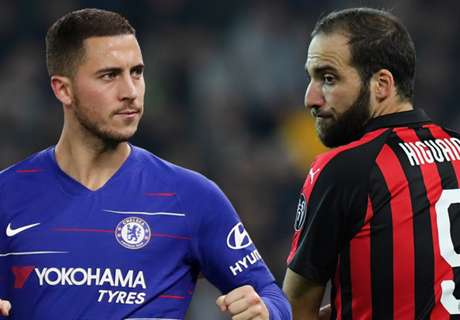 Higuain will finally end Hazard's false nine frustration