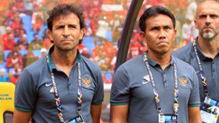 Luis Milla & Bima Sakti - Indonesia U-23