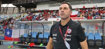 Chile U17 coach Hernan Caputto
