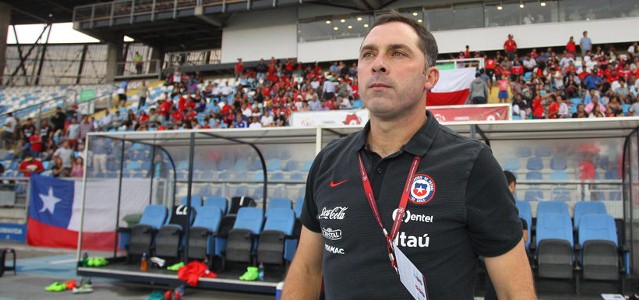 Chile U17 coach Hernan Caputto