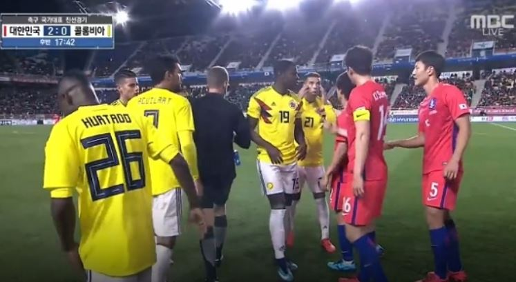Colombia Korea Friendly