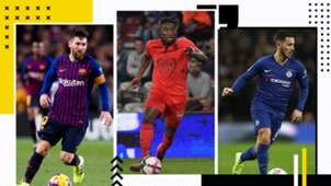 GFX Dribblings Messi Saint-Maximin Hazard