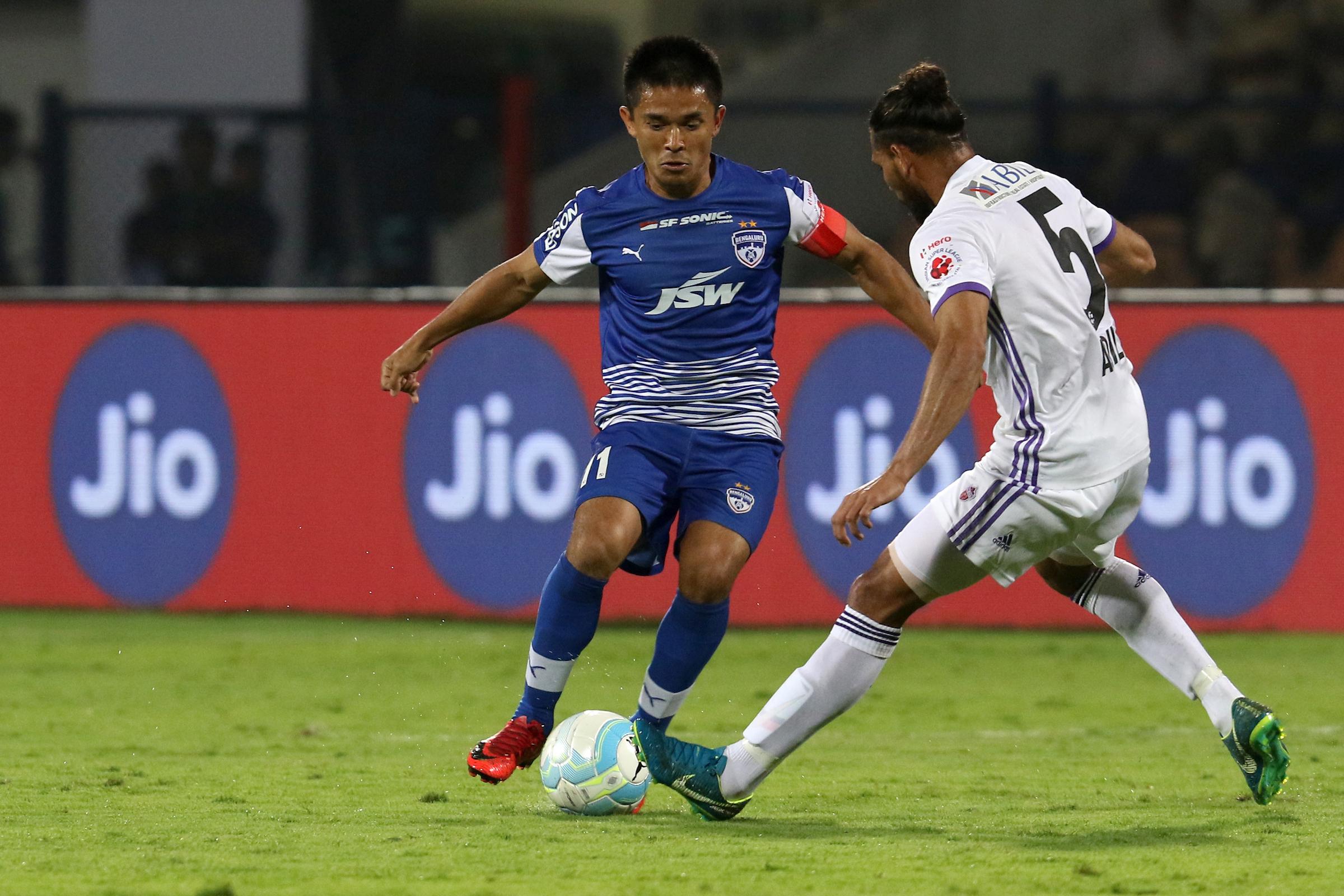 Sunil Chhetri Bengaluru FC FC Pune City ISL