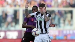 Edimilson Fernandes Rodrigo De Paul Fiorentina Udinese