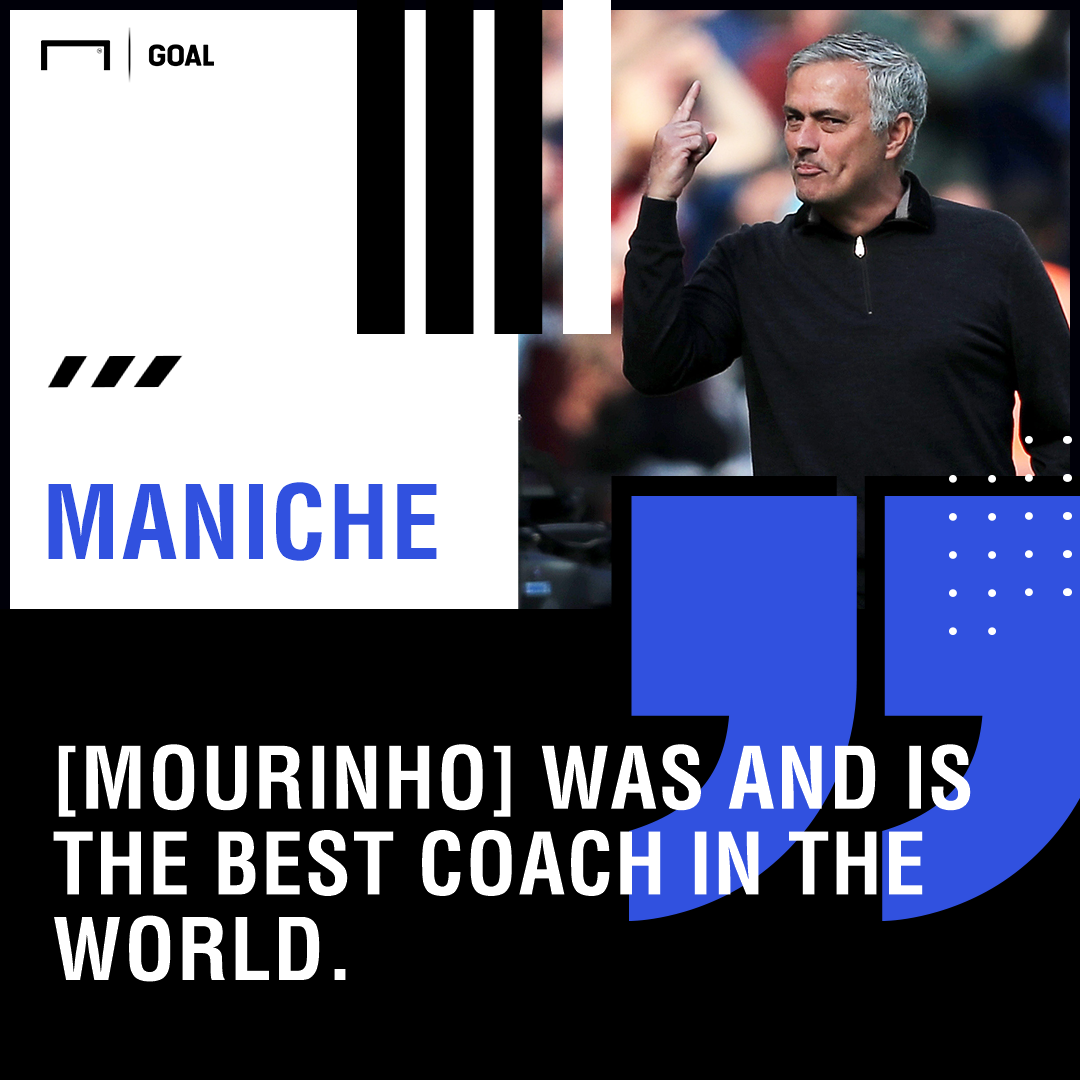 Jose Mourinho best coach in the world Maniche