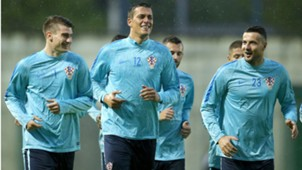 Croatia training Livakovic Kalinic Subasic