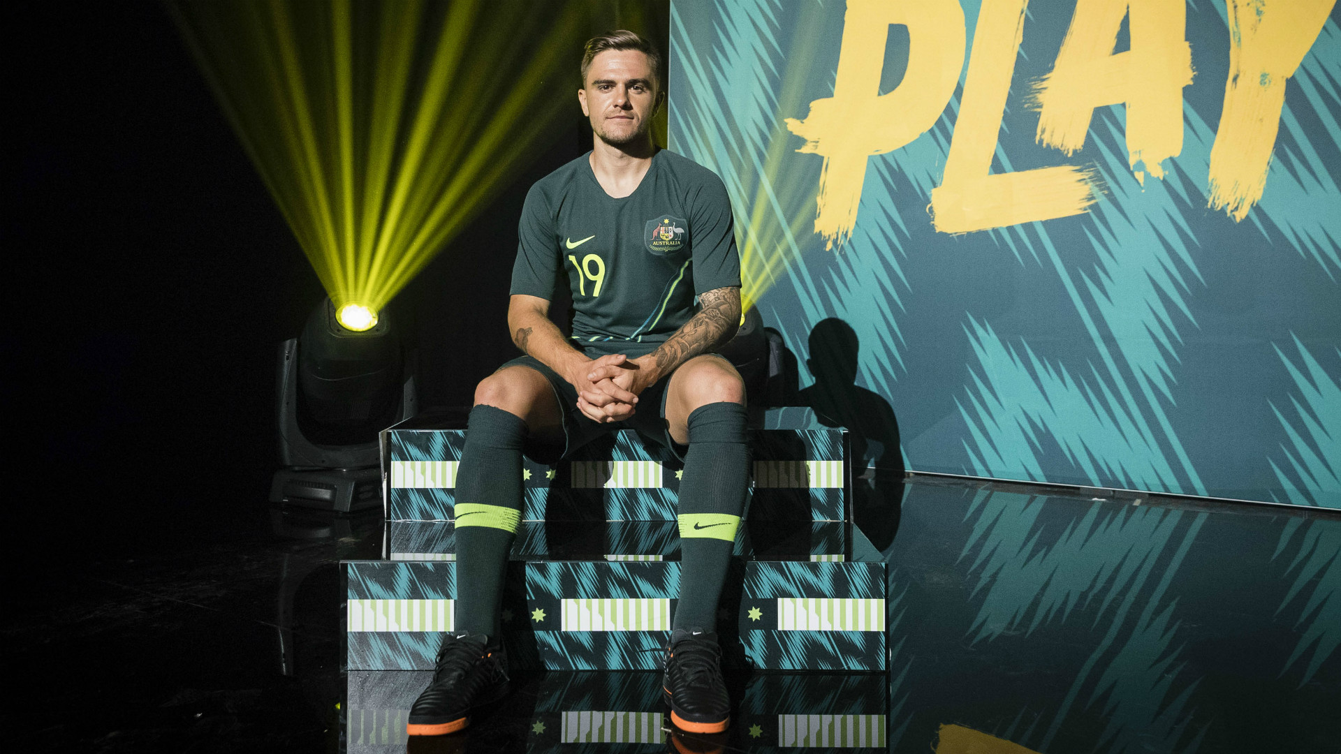 Australia Camiseta Alternativa Away Kit 2018