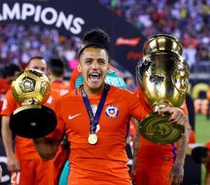 Alexis Sánchez. Copa América Centenario