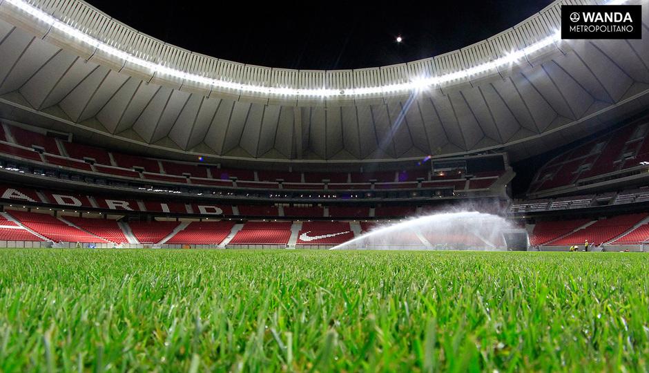 Wanda Metropolitano inside Atletico
