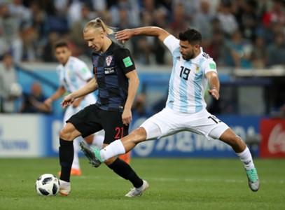 croatia argentina - sergio aguero domagoj vida - world cup - 21062018